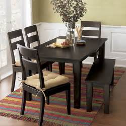 basque java dining tables crate and barrel