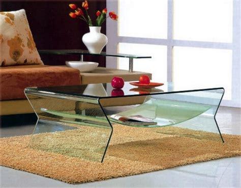 mia home mesa de centro roma cristal mesa de cristal transparente 1 pieza