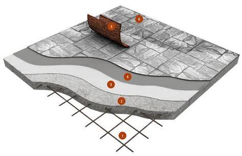 stratigrafia pavimento pavimenti esterni