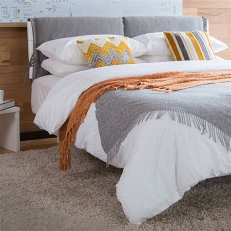four seasons bed four seasons upholstered bed frame by get laid beds notonthehighstreet com