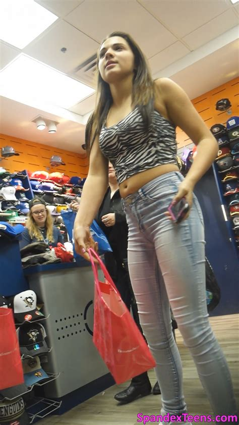tween candid spandex teens hd candid videos page 4 tight jeans