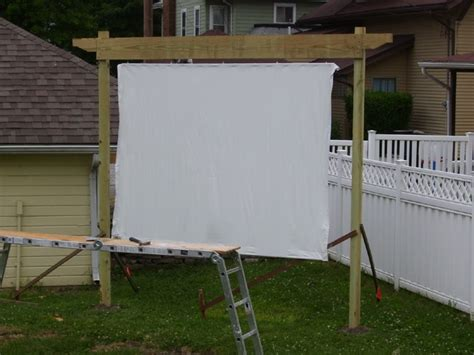 backyard theater screen 14 best images about backyard theatre on