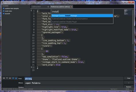 spacegray a hyperminimal ui theme for sublime text sublime text 3 最好的功能 插件和设置 码农网