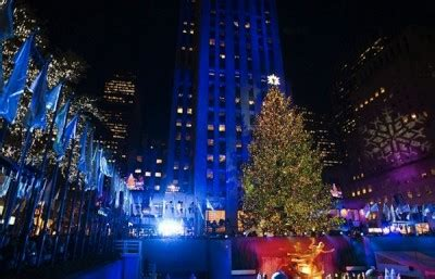 christmas in rockefeller center tree lighting ceremony