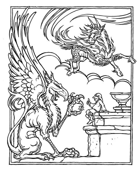 Coloring Pages Dungeons And Dragons | monster brains the official advanced dungeons and dragons