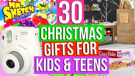 30 christmas gift ideas for kids teens youtube
