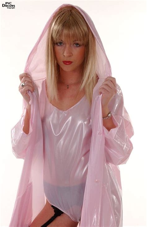 sissy plastic raincoat 1192 best raincoats pvc latex images on pinterest