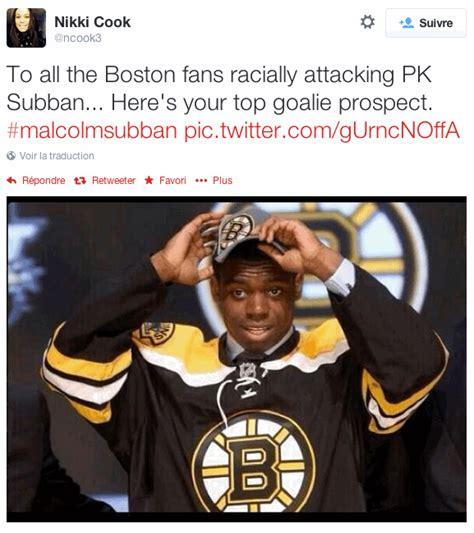 Pk Subban Memes - swisshabs la meilleure r 233 ponse aux attaques racistes