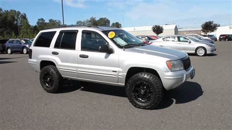 2004 jeep grand silver stock b3044a walk