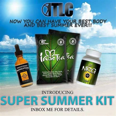 Summer Detox Pills by Shrink With Me Challenge Total Changes Iaso Product