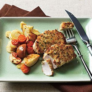 roasted root vegetables cooking light crispy pork medallions from cooking light make this at