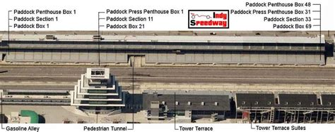 indy 500 seating chart stand a indy 500 seating chart stand j daytona 500 packages