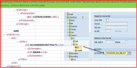 beneficiary bank bic xml as global payment file sap blogs