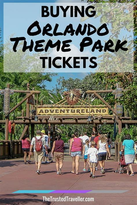 theme park tickets buying orlando theme park tickets disney parks and the