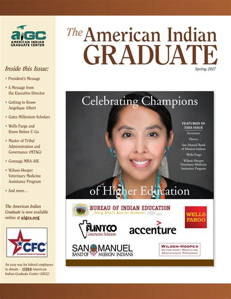 Gonzaga Mba American Indian by The American Indian Graduate Magazine 2017 By