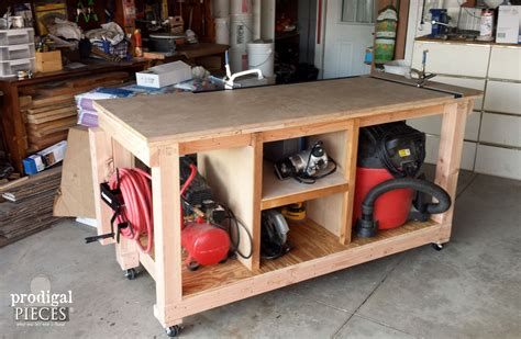 best sided for woodworking diy workbench fit for a junker prodigal pieces