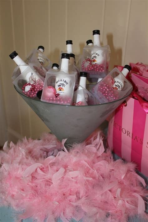 light up party favors malibu heart box favors for bachelorette party filled