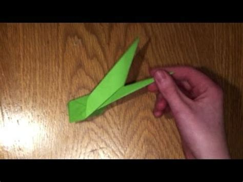 How To Make A Paper With Stem - origami flower stem tutorial