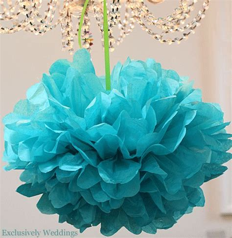 Paper Pom Poms How To Make - how to make tissue paper pom poms