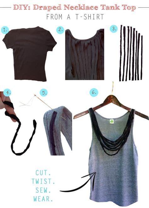 diy t shirt crafts 12 diy tank top tutorials pretty designs