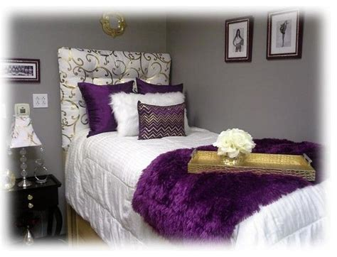 purple and gold room best 25 purple dorm rooms ideas on pinterest