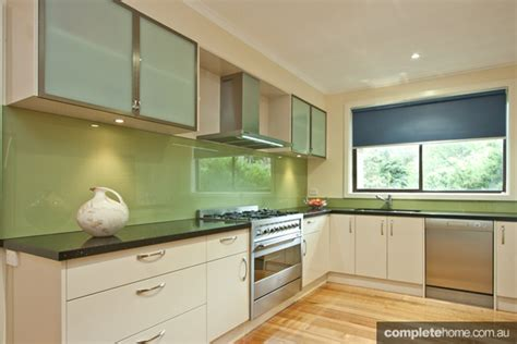 kitchen colour design laid back green kitchen design completehome