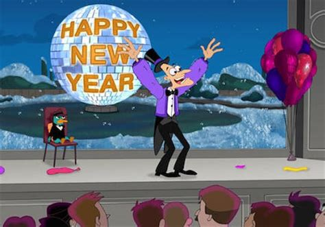 phineas and ferb new year phineas y ferb happy new year y phinbella by cris
