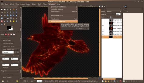 tutorial the gimp 2 8 gimp 2 8 a review of the new features tutorials