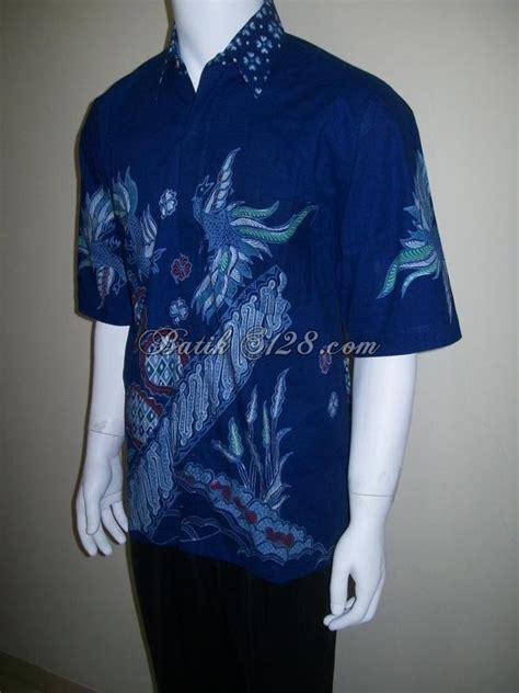 Kemeja Laki Laki Lengan Panjang Warna Biru Kemeja Distrokemeja Pria 2 kemeja batik tulis lengan pendek warna biru ld109t