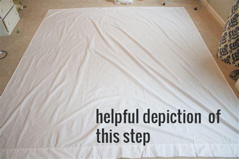 how to make a comforter cover tutorial how to make a diy pintuck duvet cover