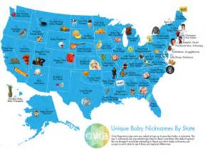 unique baby nicknames by state top baby nicknames