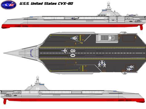concept design usa uss united states cvx 80 by bagera3005 deviantart com on