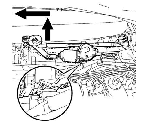 repair windshield wipe control 2012 lexus es parking system location of windshield wiper motor impremedia net