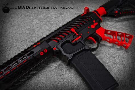 custom black mad label ultralight ar grip mad custom coatingmad