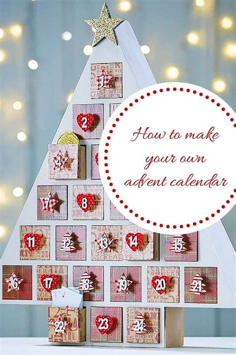 make own calendar with pictures diy advent calendar how to make your own