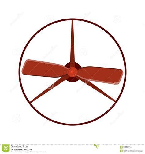 circle fan without blades propeller fan vector wind ventilator equipment air blower