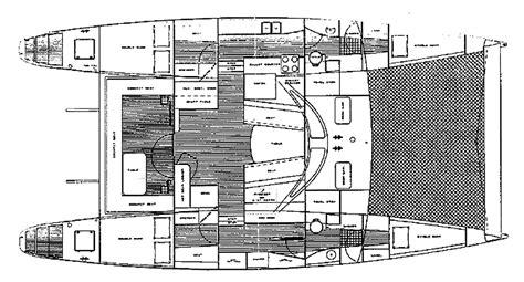 catamaran design considerations voyager 45 boats