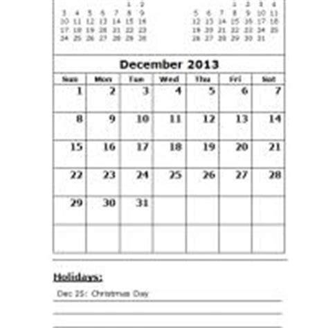 free printable december 2013 calendar with holidays december 2013 calendar with holidays