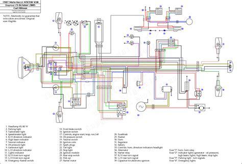 schema electrique moto guzzi california  bois eco