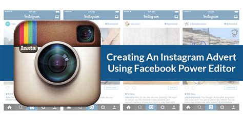 instagram ads power editor tutorial how to create an instagram ad using facebook power editor