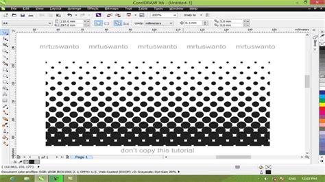 corel draw x4 halftone cara membuat objek transparan di corel draw x6 cara