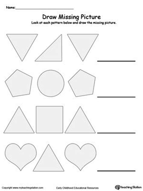 pattern theory the mathematics of perception 9 best images about patterns worksheets on pinterest