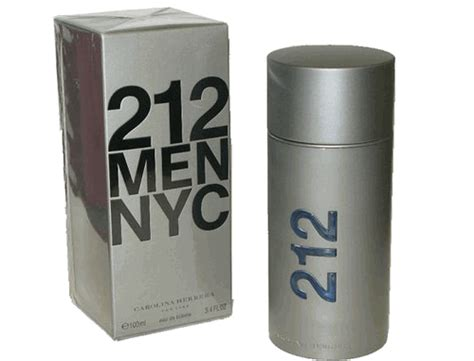 Parfum Carolina Herrera 212 Ori Eropa Nonbox authentic 212 cologne by carolina herrera 3 4 oz eau de toilette spray for the perfume spot