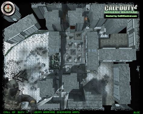 call of duty 4 maps cod4 central cod4 maps bloc high resolution modern warfare remastered