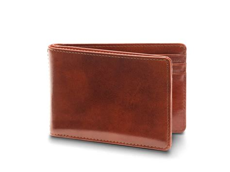 And Bifold Wallet small leather bifold wallet for leather bosca