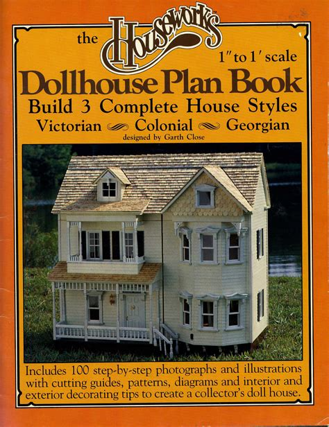 doll house novel houseworks dollhouse plan book build 3 and 50 similar items