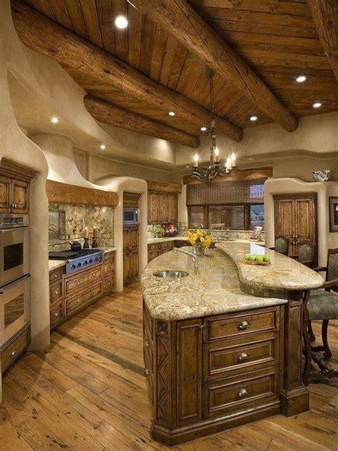 log home kitchen design 64 deluxe custom kitchen island designs beautiful