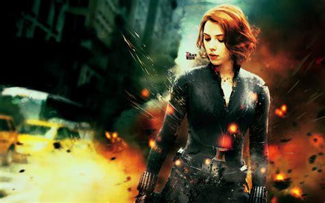 wallpaper black widow avengers the avengers black widow wallpaper by the potara fusion on
