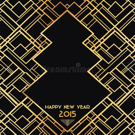 new year 2015 card vector new year 2015 deco card stock vector illustration of