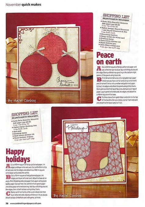 Cardmaking And Papercraft - i m in cardmaking papercraft magazine